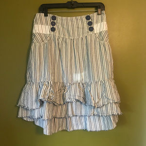 Anthropologie Kimchi & Blue Bustle Skirt
